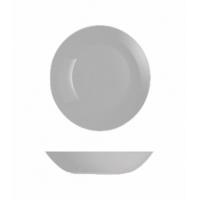 Серая тарелка для первых блюд Luminarc Diwali Granit 200 мм (P0703)
