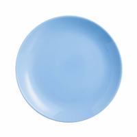 Тарелка-подставка голубая Diwali Light Blue 270мм Luminarc (P2015)